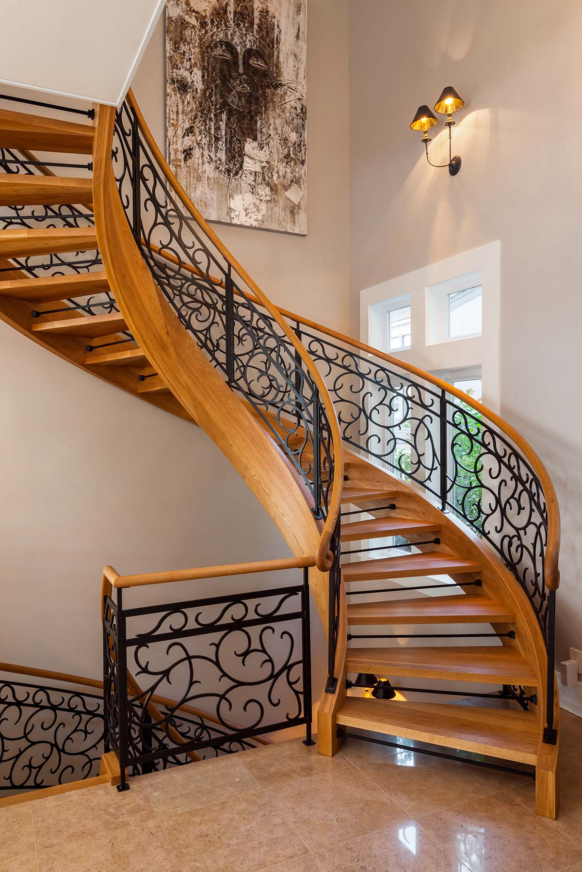 mw design workshop custom staircases stairs handrails