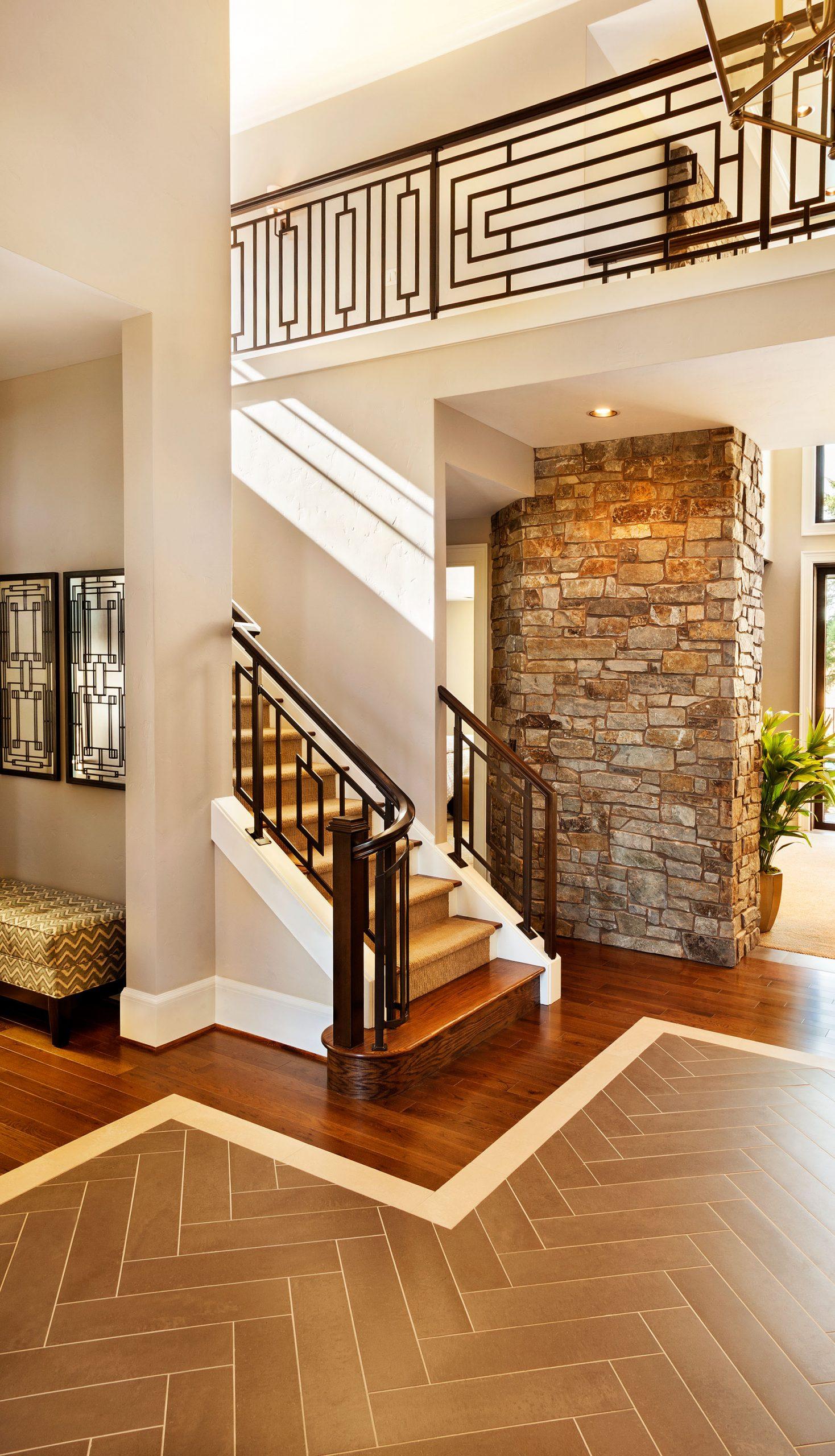 mw design workshop custom rail balustrade stairs