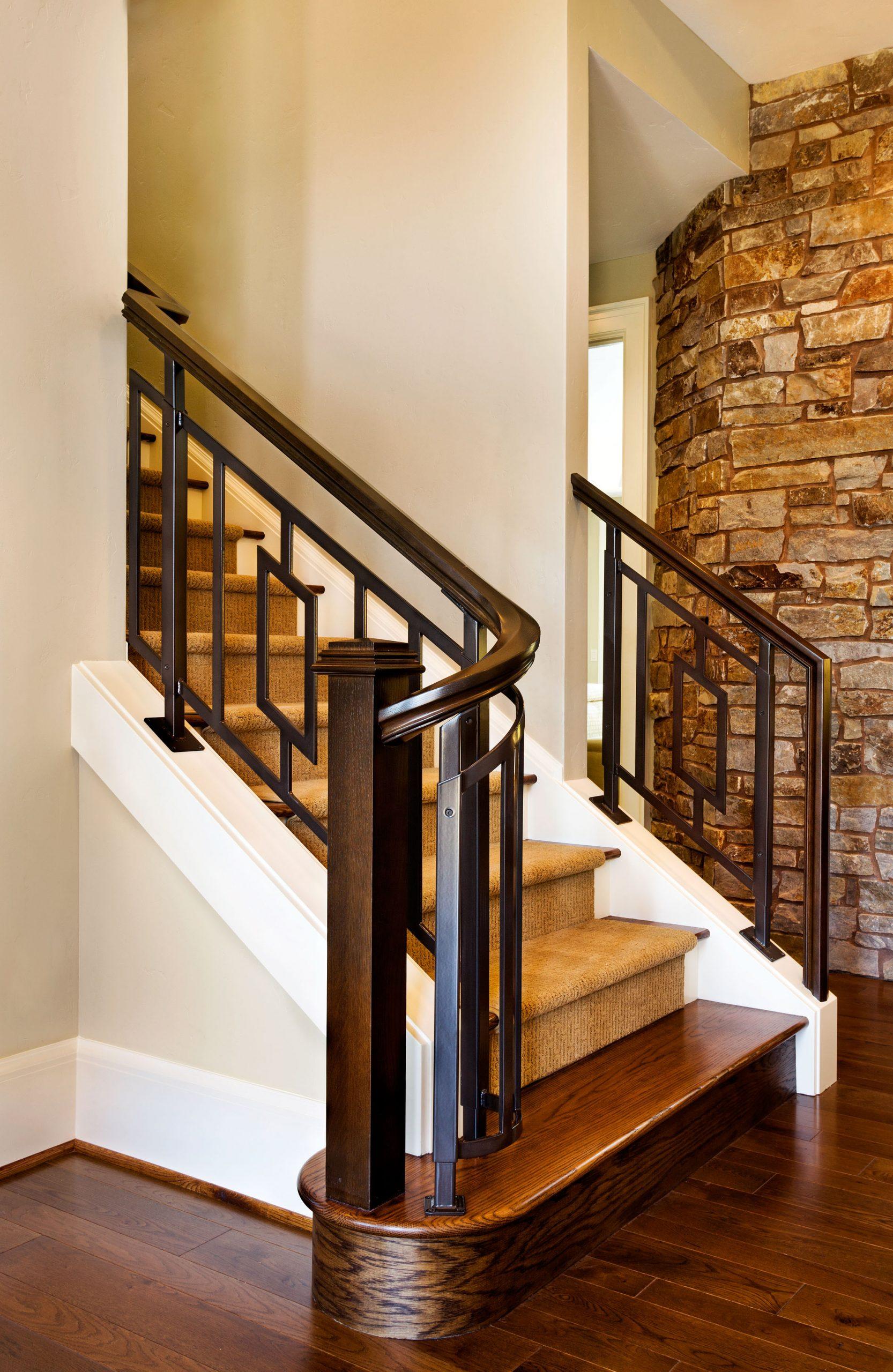 mw design workshop custom stairs handrail