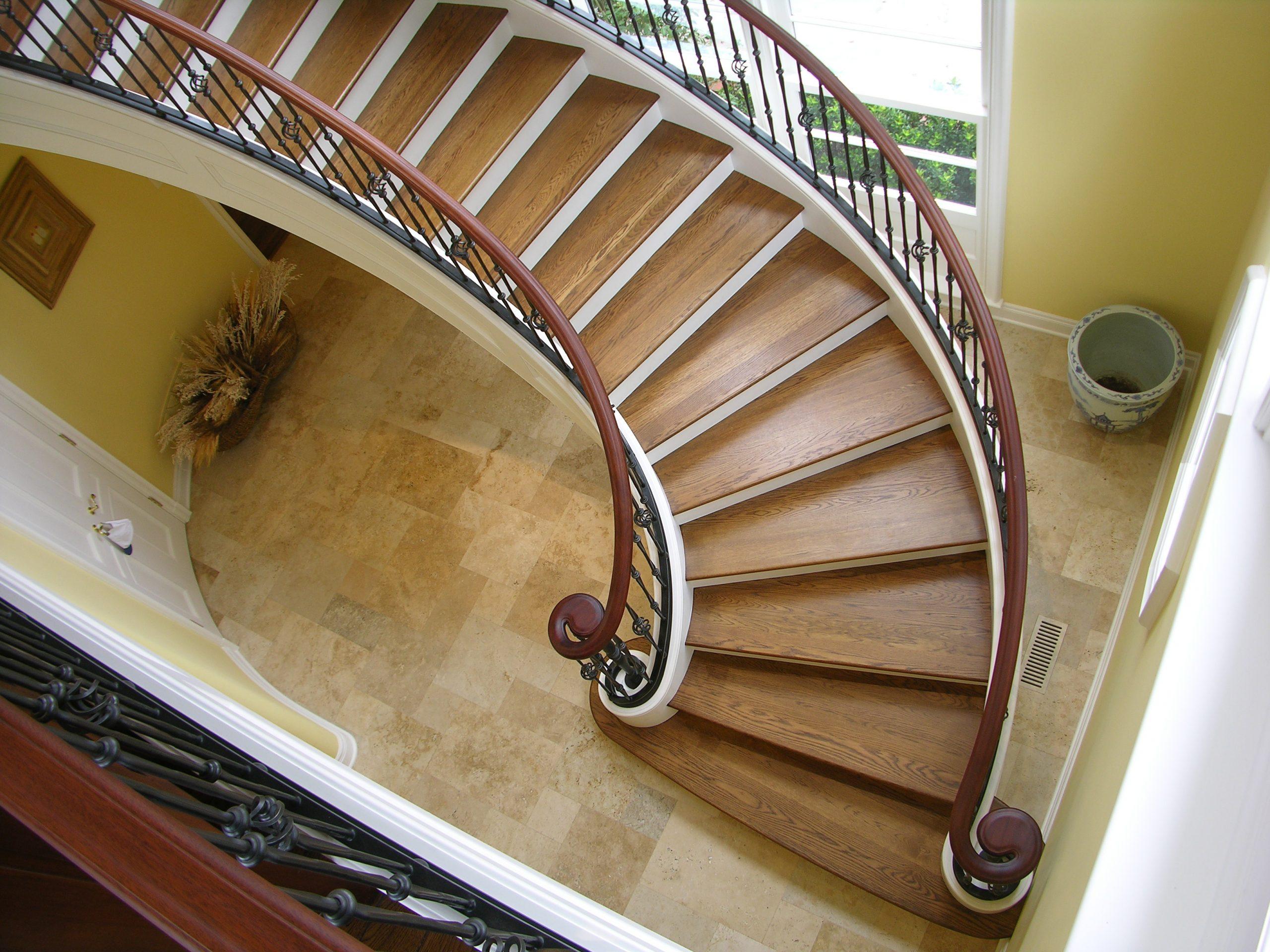 MW design workshop custom stairs spiral