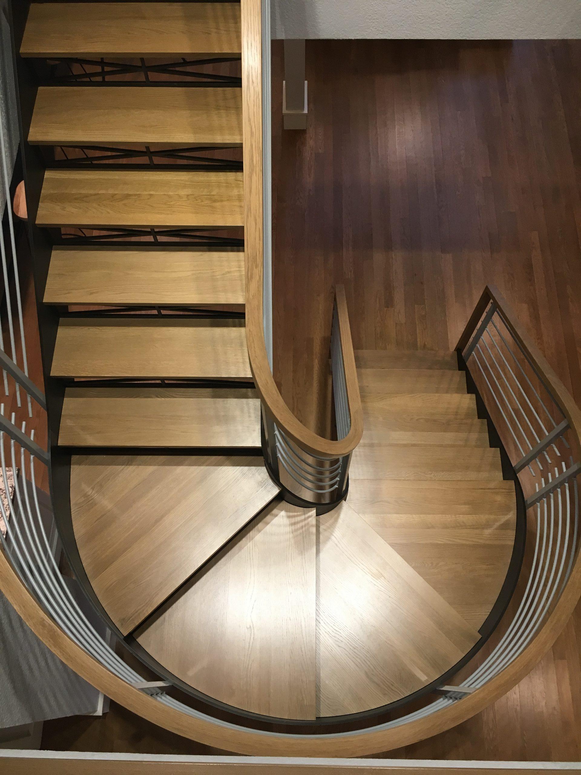 MW design workshop U stairs