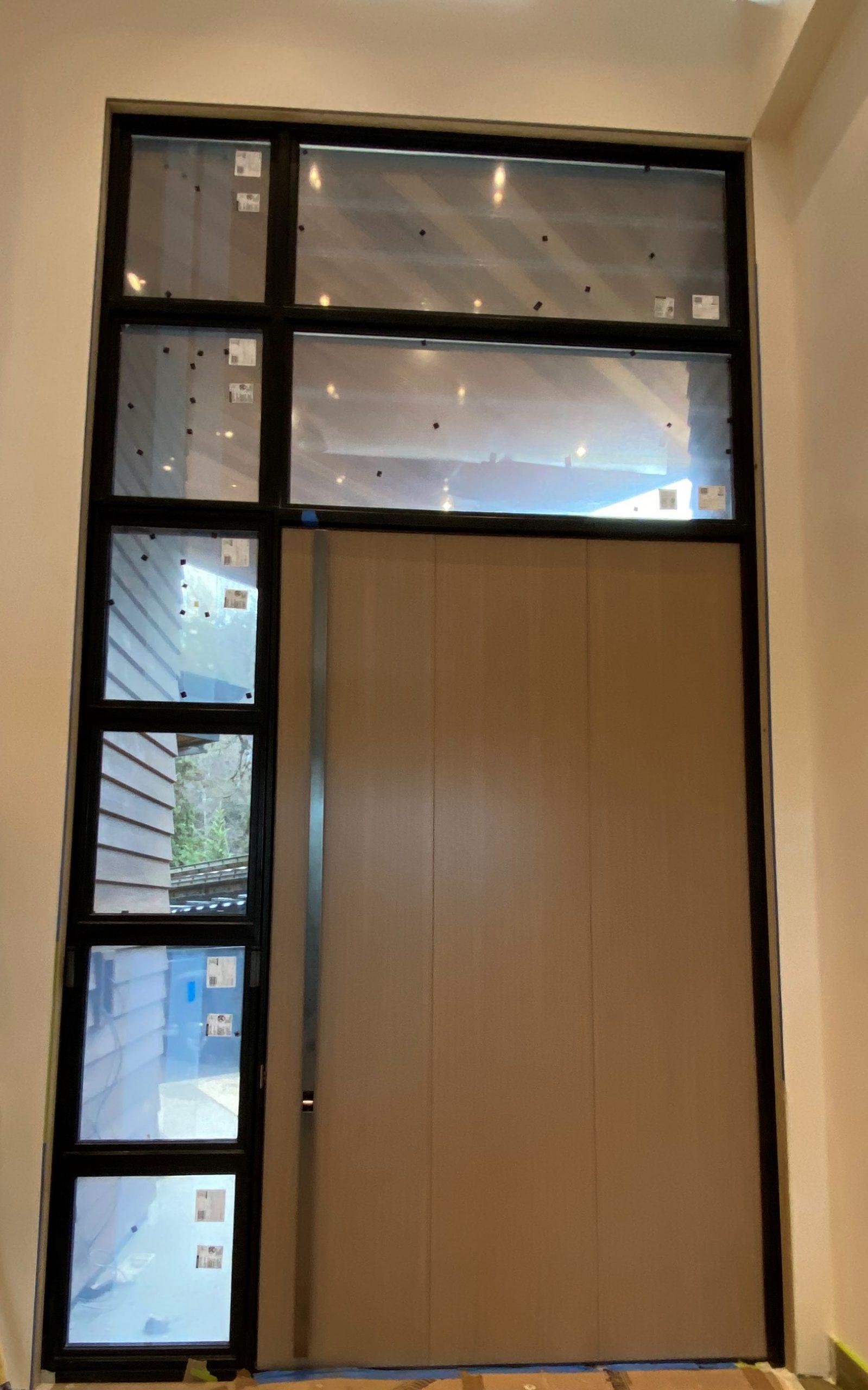 mw design workshop custom pivot door