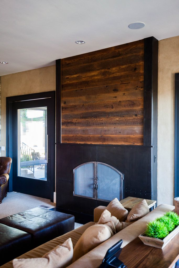 mw design workshop custom fireplace